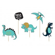 Toppers Dinosaurs, 10.5-20cm (1 pkt / 5 pc.)