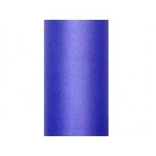 Tulle Plain, navy blue, 0.3 x 9m