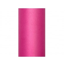 Tulle Plain, pink, 0.3 x 9m