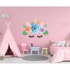 Unicorn DIY paper decoration