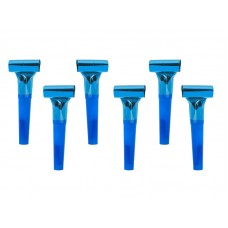 Whistles, blue (1 pack / 6 pc.)