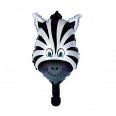 Mini foil Balloon Zebra, 31.5 см х 44 см