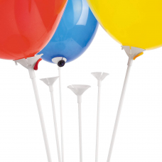 Balloon sticks and cups (1 pc)