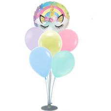 Balloons stand Set - Unicorn 7 balloons