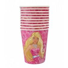 Paper Cups 10pcs, Barbie