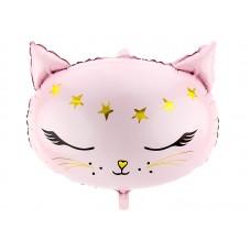 Foil Balloon Cat, 48x36cm