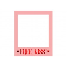 Selfie photo frame Love is in the air, 50x59.5cm