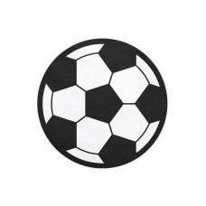 Napkins Football, 13.5cm (1 pkt / 20 pc.)