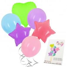 """Balloon bouquet """"Macaron"""" pastel colors, 10pcs"""