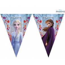 Flags Banner Elsa and Anna - Frozen 2.3m