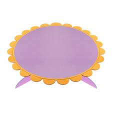 Cake stand 32cm, lilac