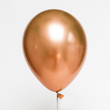 "Latex Balloon chrome copper 12""/ 7 szt."