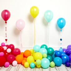 Latex Balloons - plain colors