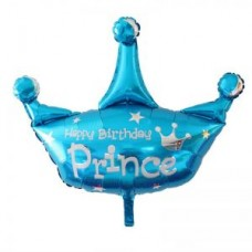 Foil Balloon Crown Prince, 78cm
