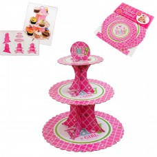 Cupcakes stand, pink