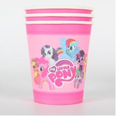 Paper Cups 10pcs, My Little Pony