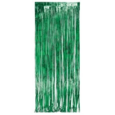 Party Curtain, green, 2m x 1m