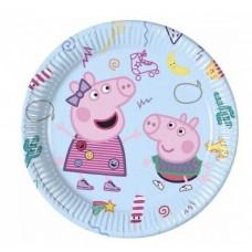 Peppa Pig Plates 23cm - 8pcs