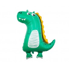 Foil balloon Dinosaur (cartoon), 89 cm