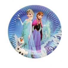 Paper Plates 18cm, 10pcs, Frozen