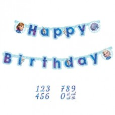 Disney Frozen Ice Skating Add An Age Letter Banner 1.8M