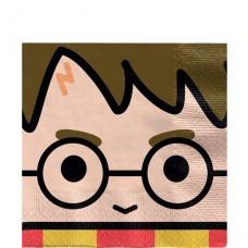 Harry Potter Paper Napkins - 33cm x 33cm - 16pcs