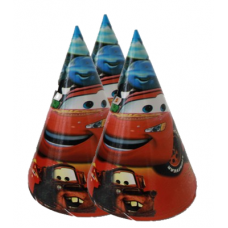 Party hats Cars, 1 pc