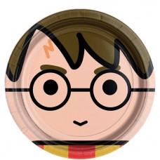 Harry Potter Paper Plates - 23cm - 8pcs