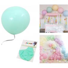 "Latex Balloons ""Macaron"" 48cm, light mint, 2 pcs"