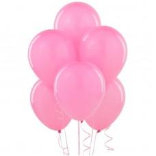 10 Latex Balloons Pearl Pink 27.5 cm/11''