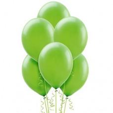 10 Latex Balloons Standard Lime Green 27.5 cm/11''