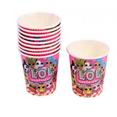 Paper Cups 10pcs, LOL