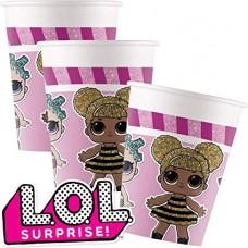 L.O.L Surprise Paper Cups - 200ml 8pcs