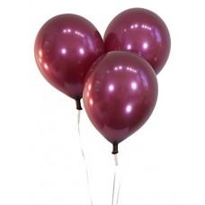 Strong Balloons 30cm, Metallic Maroon 1pc