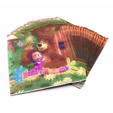 Napkins Masha and the Bear 20pcs