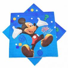 Party Napkins 20pcs, Mickey Mouse
