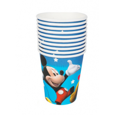 Paper Cups 10pcs, Mickey Mouse