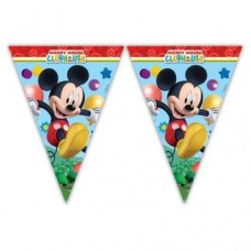 "Banner ""Playful Mickey"", flags"