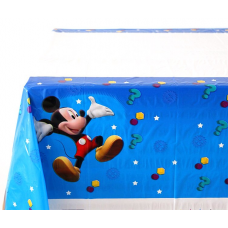 Plastic Tablecover, 108 x 180cm, Mickey Mouse