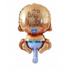 """Foil balloon 14"""" FX - """"Bobas Boy"""""""