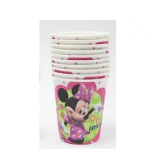 Paper Cups 10pcs, Minnie Mouse