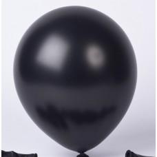 Strong Balloons 30cm, Metallic Black 1pc