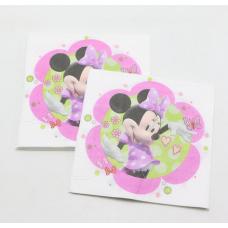Party Napkins 20pcs, Minnie Mouse