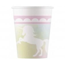 Paper cups Believe in unicorn, 200 ml, 8 pcs