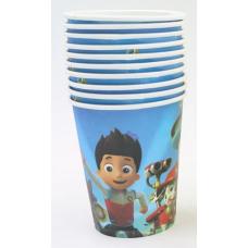Paper Cups 10pcs, Paw Patrol