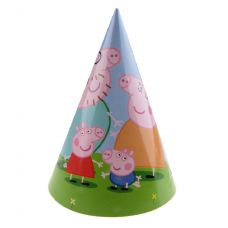 Peppa Pig party hat, 20cm - 1pc