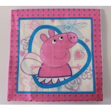 Party napkins Peppa pig, 20pcs