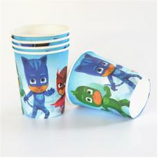 Party cups, PJ Masks, 10pcs