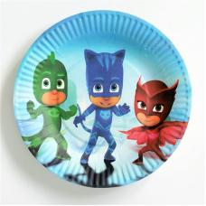 Party Plates PJ Masks, 10pcs