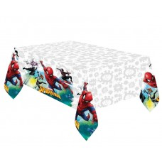 Plastic Table cover Spiderman Team Up - 120 x 180 cm